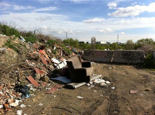 IU denuncia el estado del 'Madrid (no me) río', el Parque Lineal del Manzanares