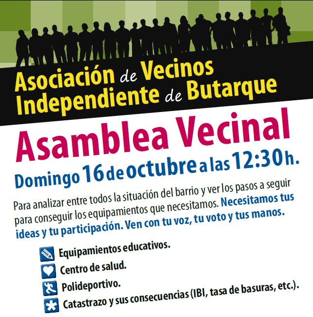 Asamblea Vecinal Octubre 2011