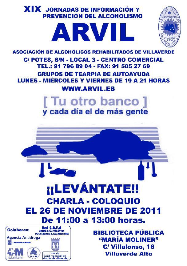 Jornadas de información y prevención del alcoholismo 2011