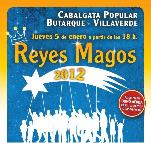 Cartel Oficial de la Cabalgata Popular 2012