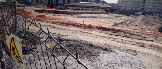 El colegio de Villaverde no estará listo para el próximo curso