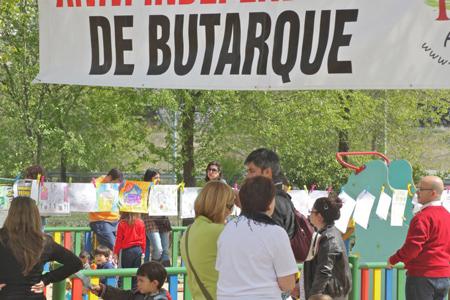 Celebración del día del libro en el barrio 2012