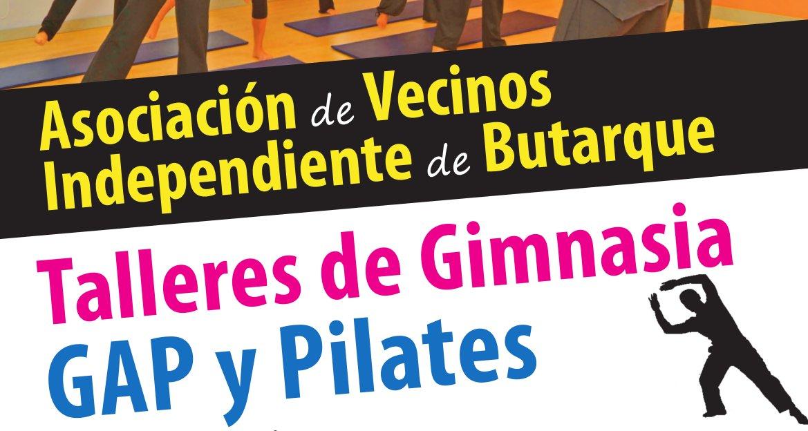 Los talleres de GAP y Pilates estrenan nuevos horarios