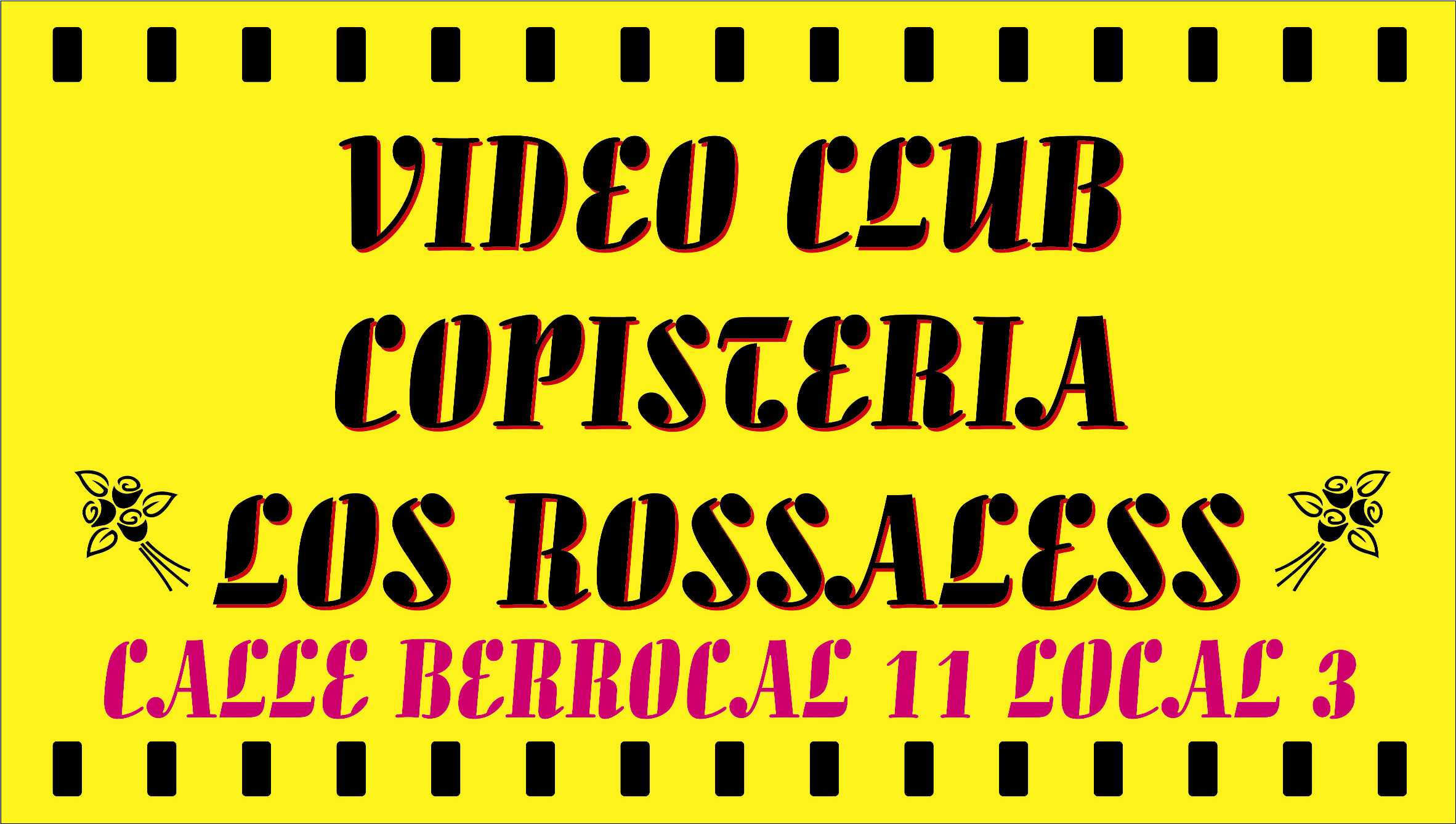 Vídeo Club Los Rossaless