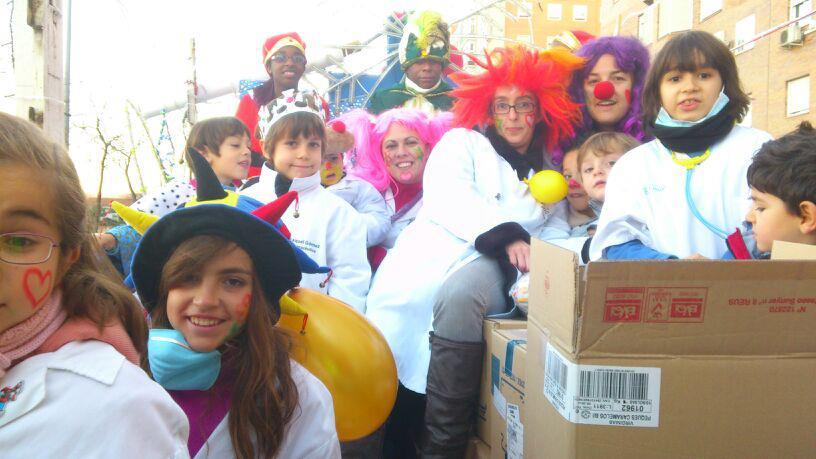 VillaVerde se llena de ilusión con la Cabalgata Popular 2013