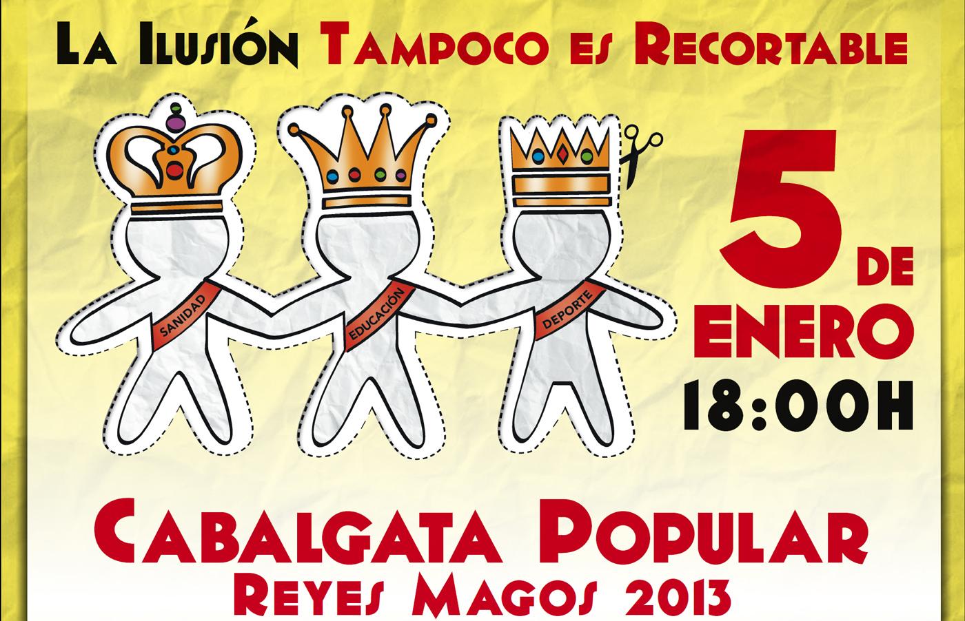Cabalgata Popular de VillaVerde 2013