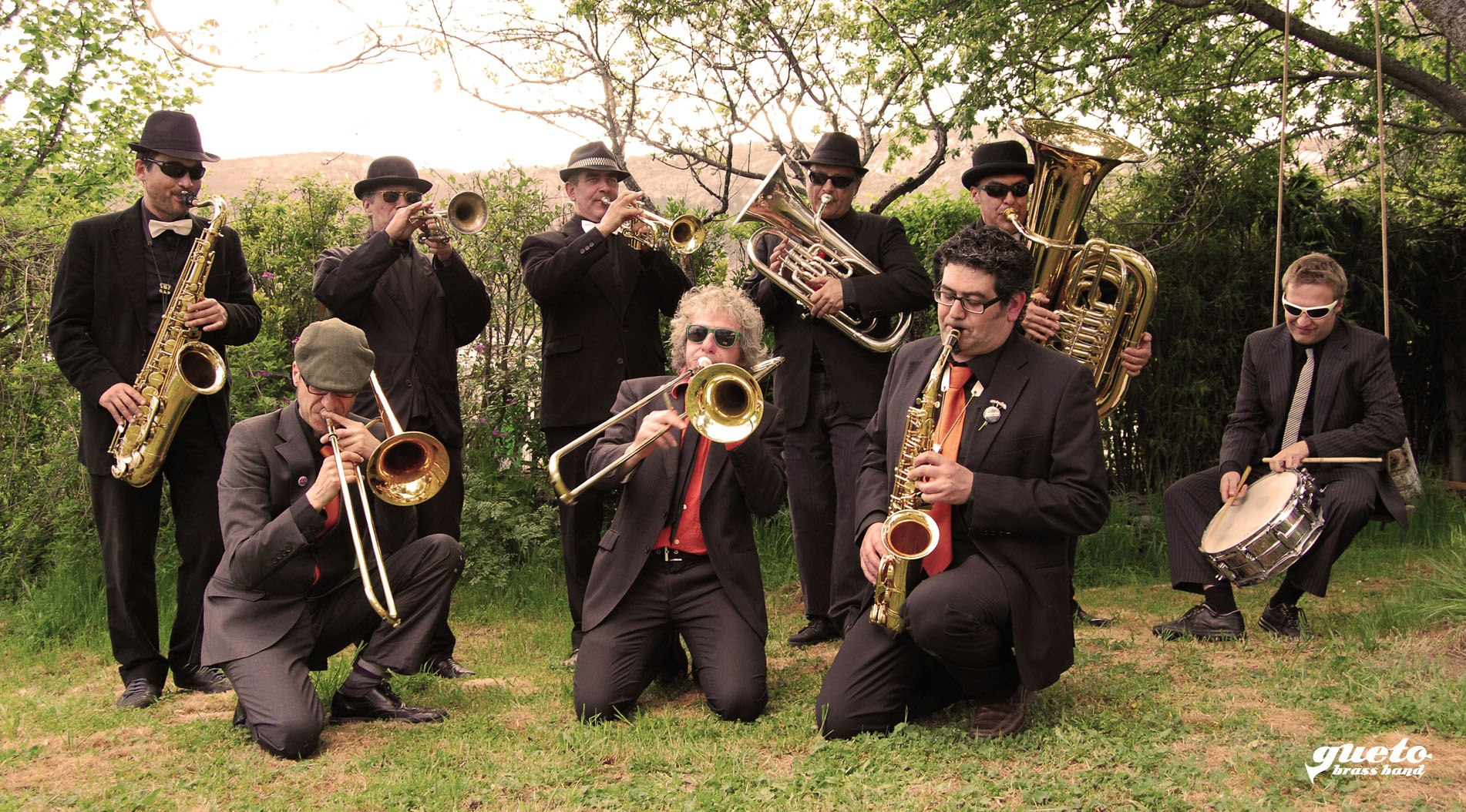 Gueto Brass Band en el #TitiriVerde 2013