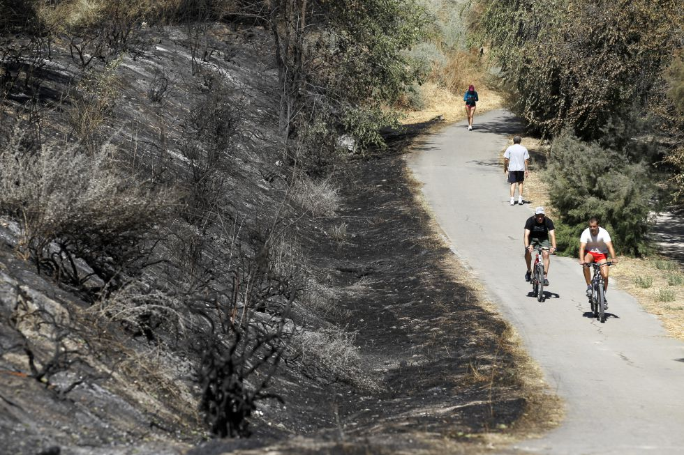 El 'otro Madrid Río' se quema