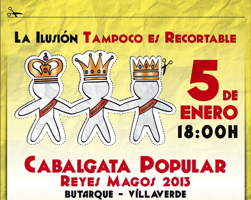Comenzamos a preparar la Cabalgata Popular 2014