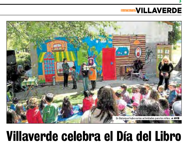 Villaverde celebra el Día del Libro