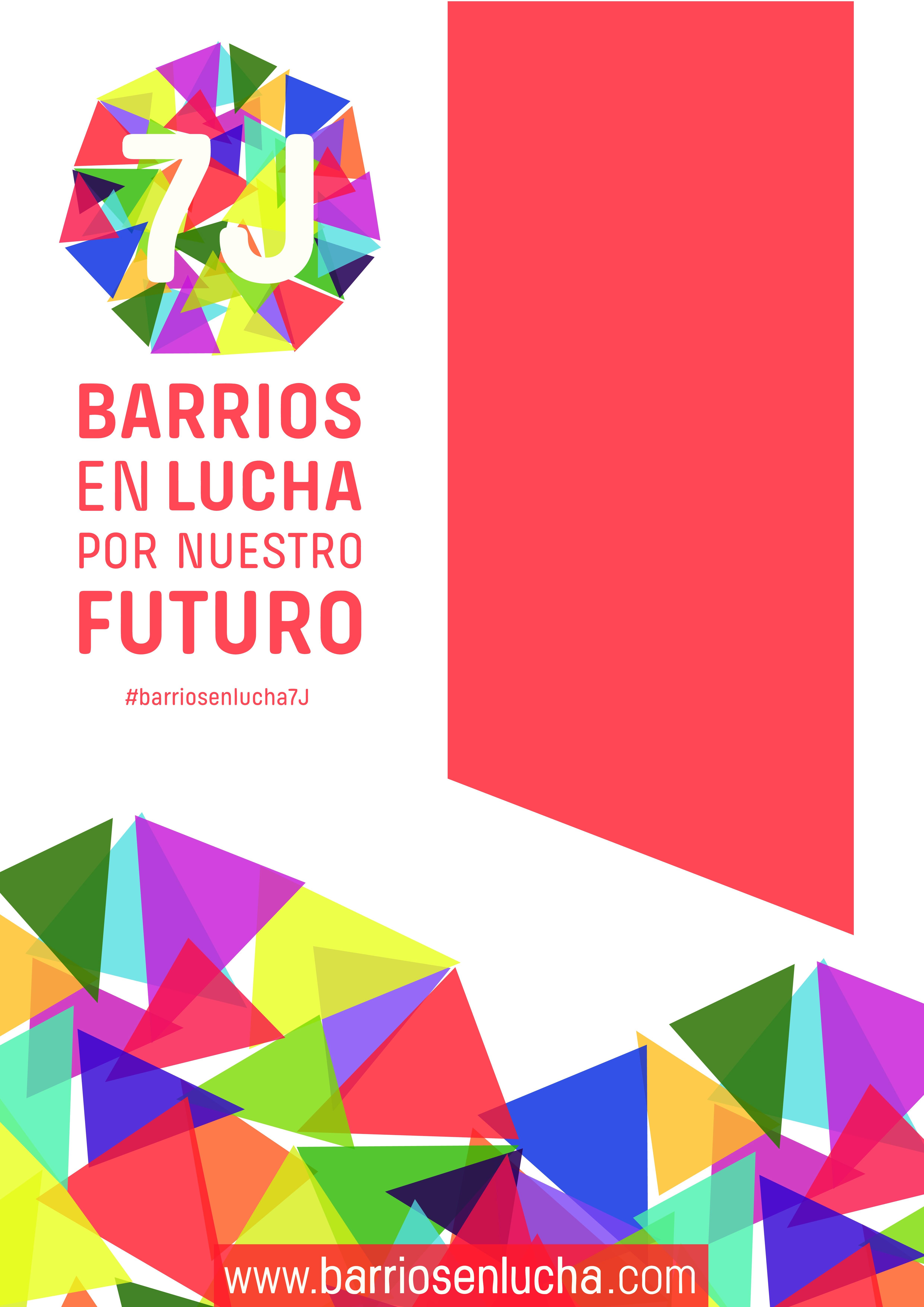 El 7 de junio los barrios y pueblos de Madrid saldrán a la calle en lucha por su futuro