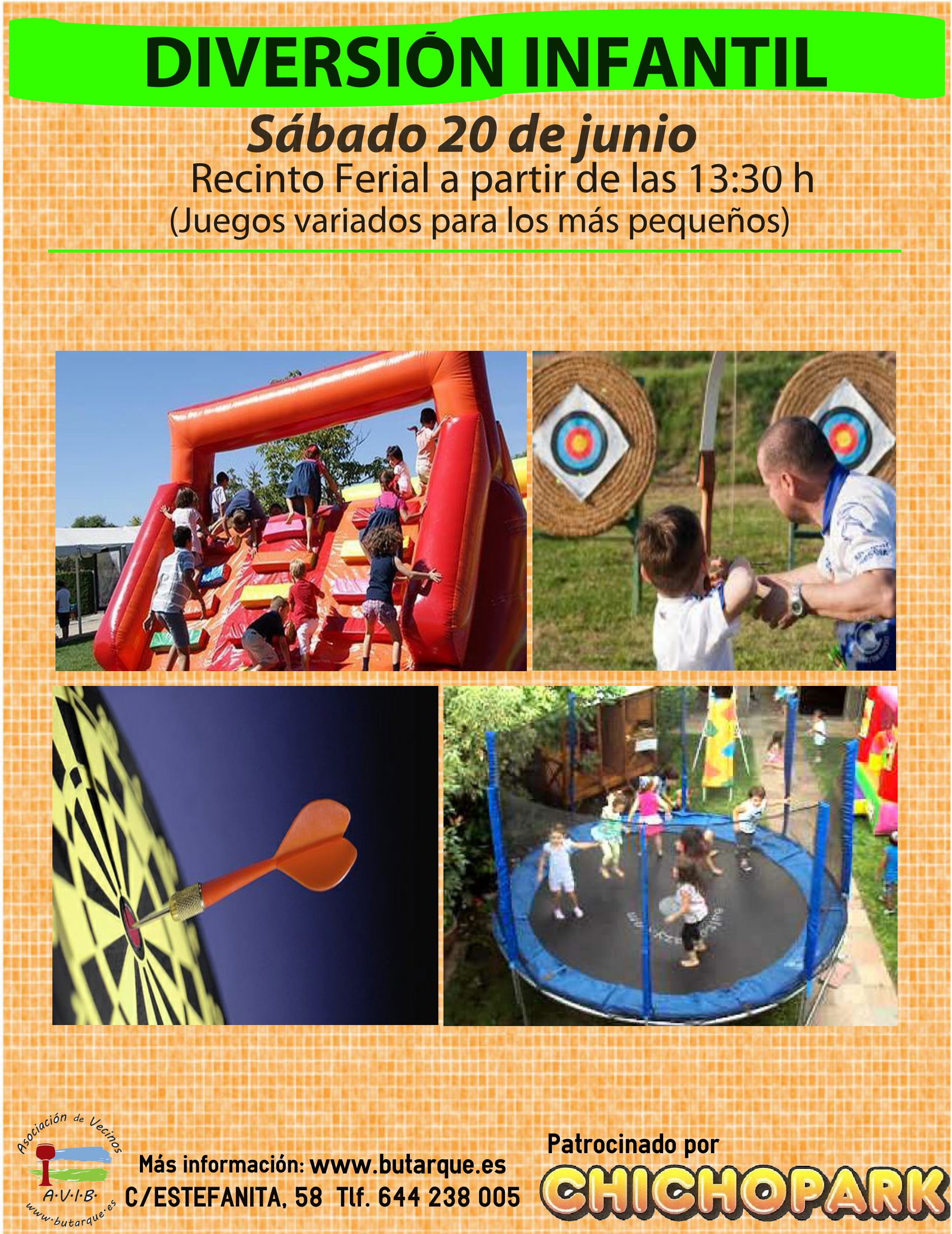 Actividades infantiles de Chichopark 2015