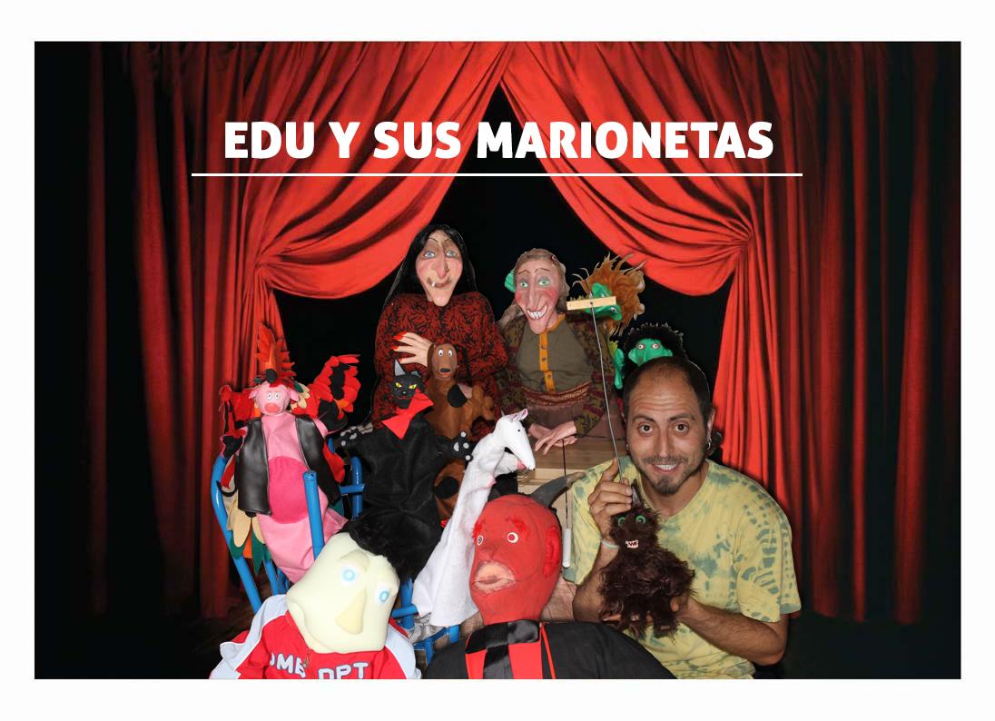 Edu y sus marionetas