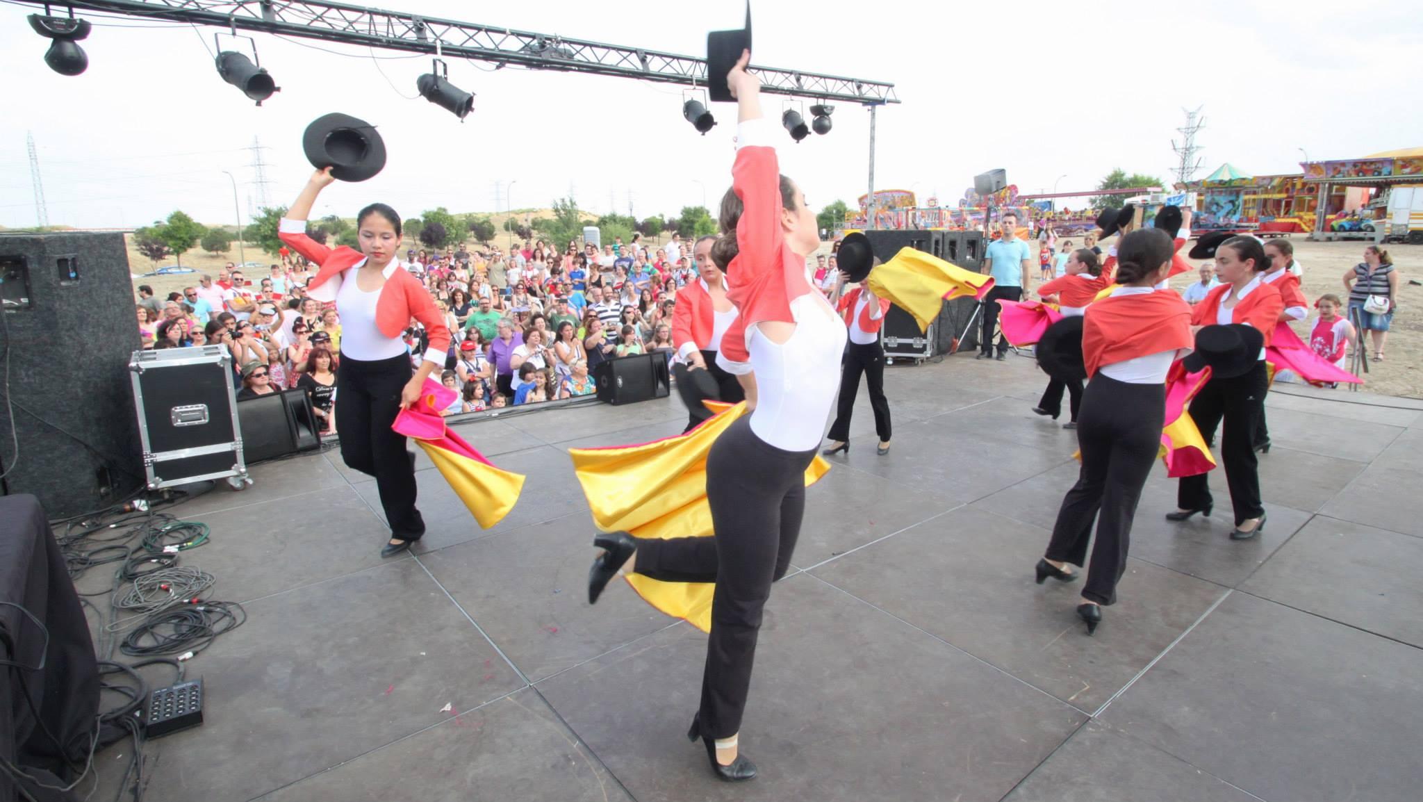 Exhibición de baile y danza española