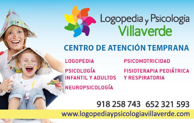 Logopedia y psicología Villaverde