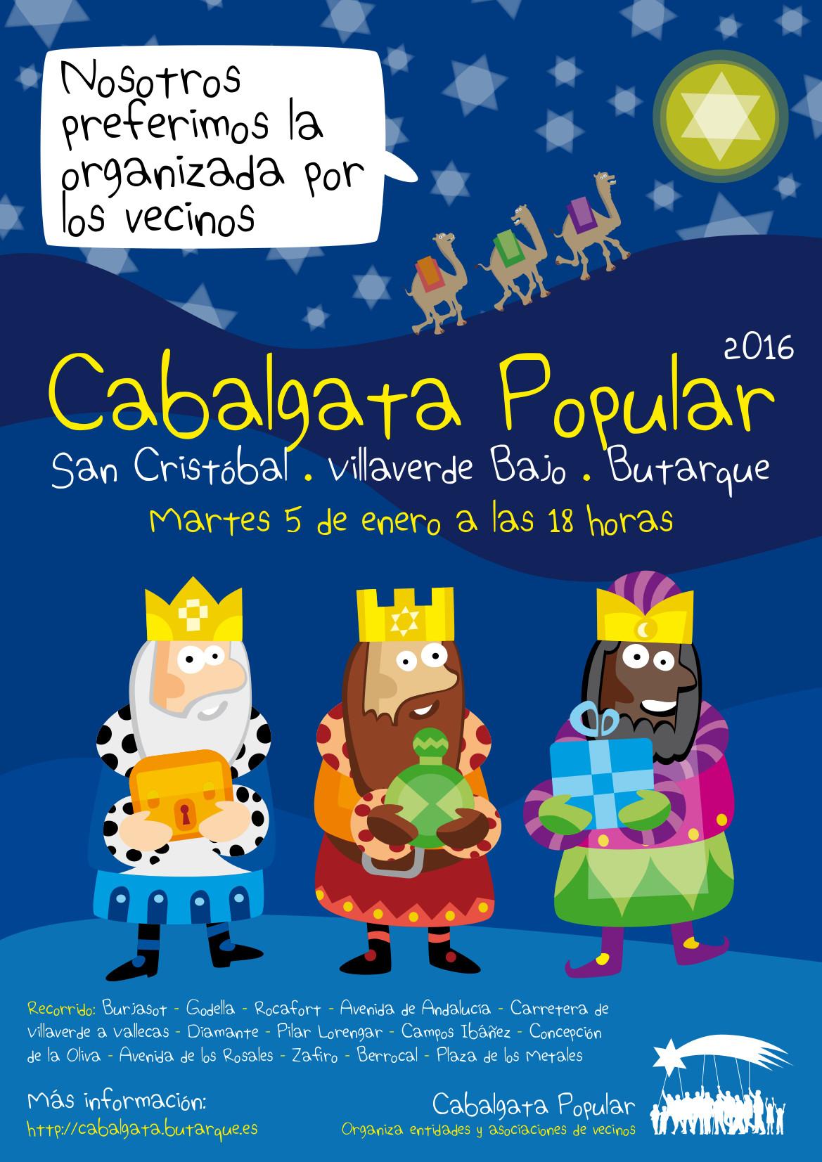 Cabalgata Popular de Villaverde 2016