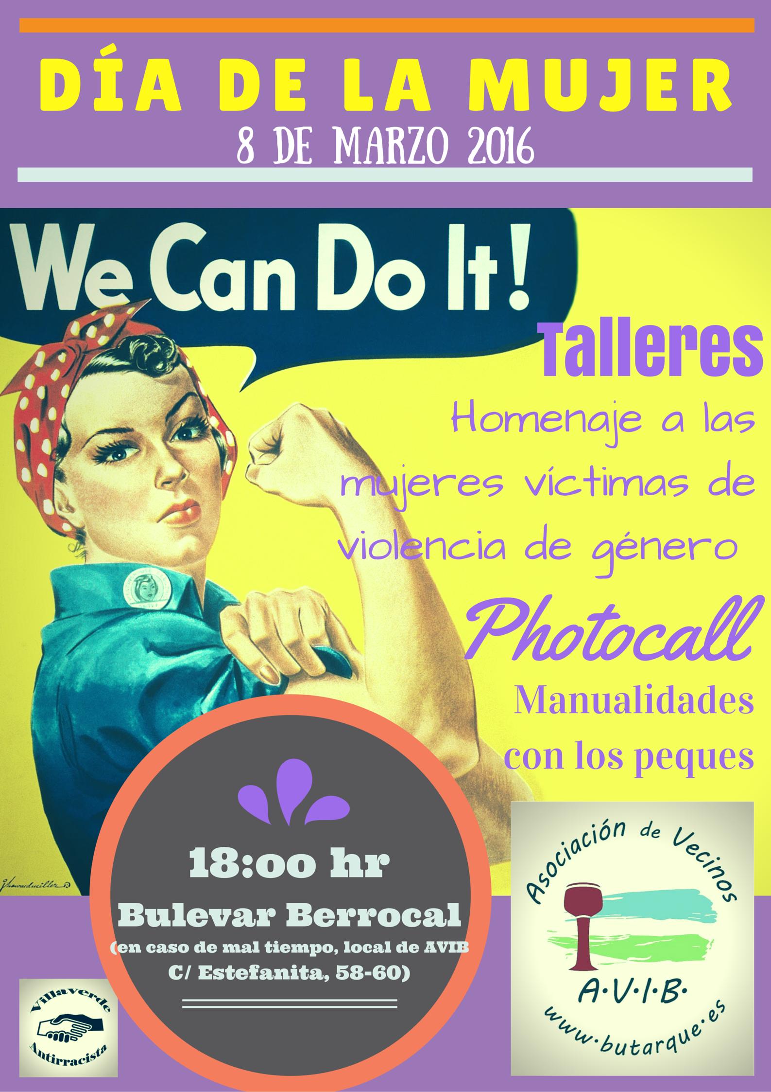 Hoy es 8 de marzo, día de la mujer trabajadora