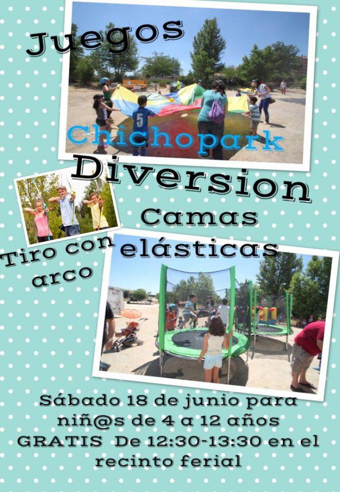 Juegos infantiles organizados por ChichoPark