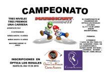 Campeonato de Mario Kart en Óptica Los Rosales 2016