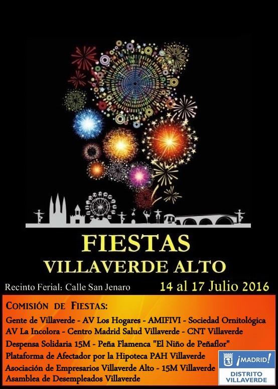 Fiestas de Villaverde Alto 2016