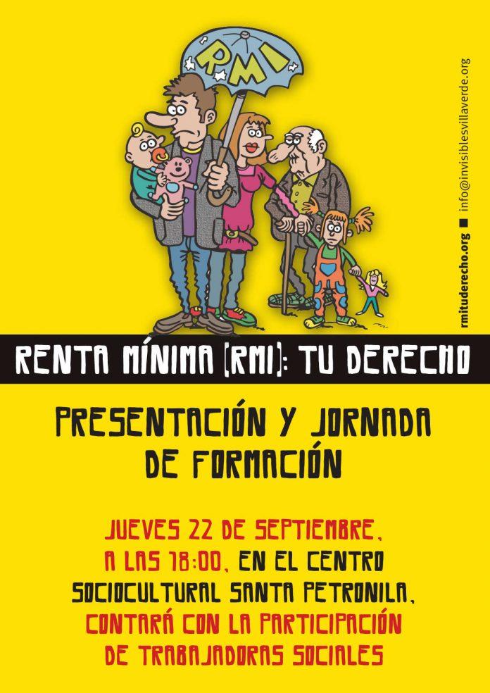 """Presentación y jornada de formación de la campaña """"RMI: tu derecho"""" en Villaverde"""