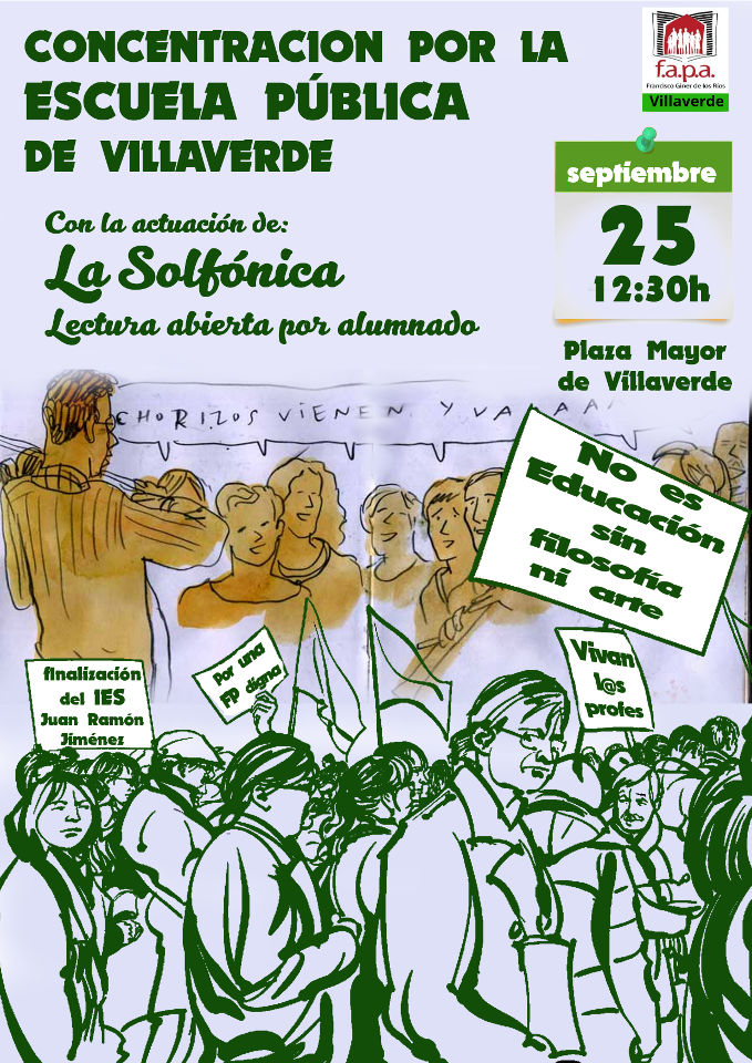 La Delegación de la FAPA de Villaverde inaugura curso con la Solfónica