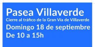 """Este domingo """"Pasea Villaverde"""" con motivo de la semana de la movilidad"""