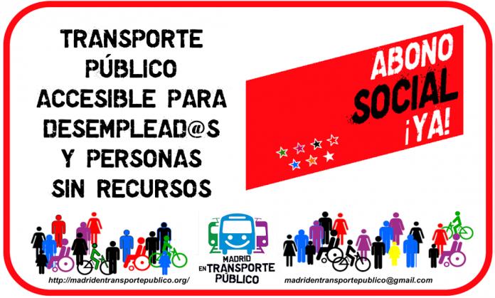 Aprobada la propuesta de crear un Abono Social de Transportes en Madrid