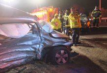 Nuevo accidente con víctimas mortales en la Avenida de los Rosales