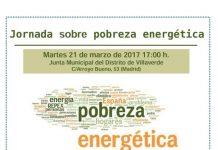 Jornada sobre pobreza enerǵetica en Villaverde