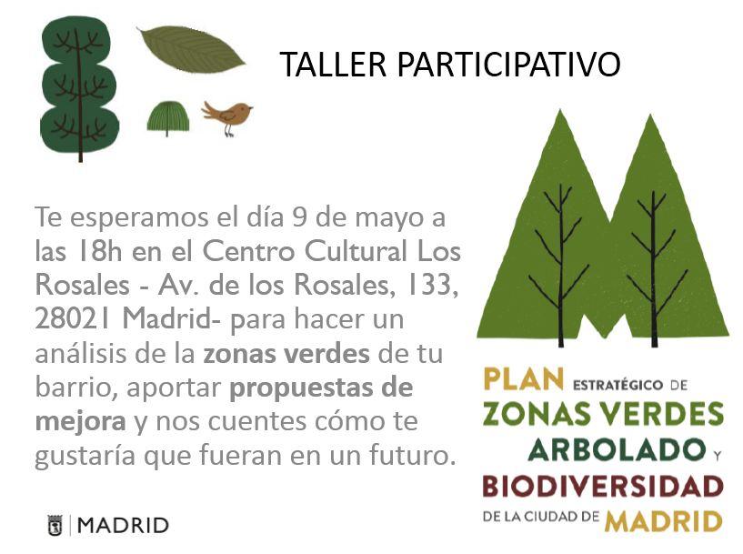 Taller zonas verdes de Villaverde