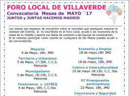 foros locales mayo